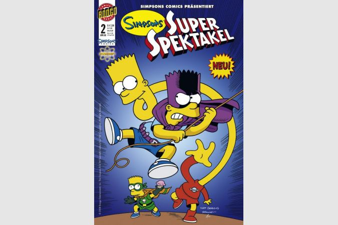 Simpsons Super Spektakel - Nr. 2