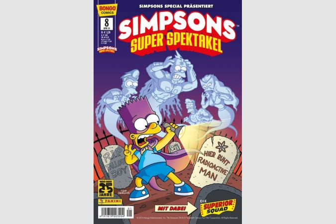Simpsons Super Spektakel - Nr. 8